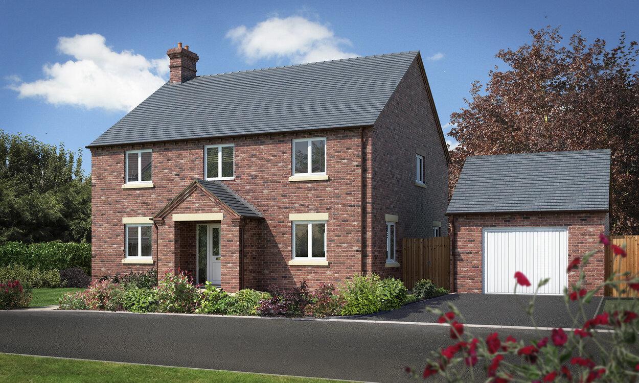 new home shropshire